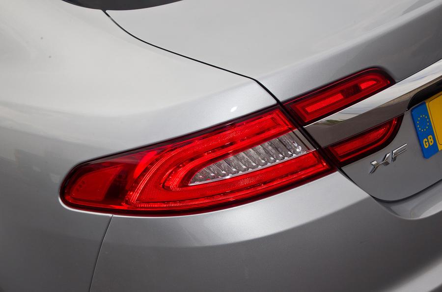 Jaguar XF rear lights