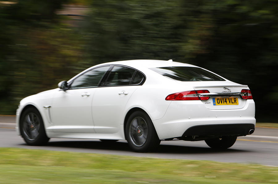 Jaguar XF R-Sport rear