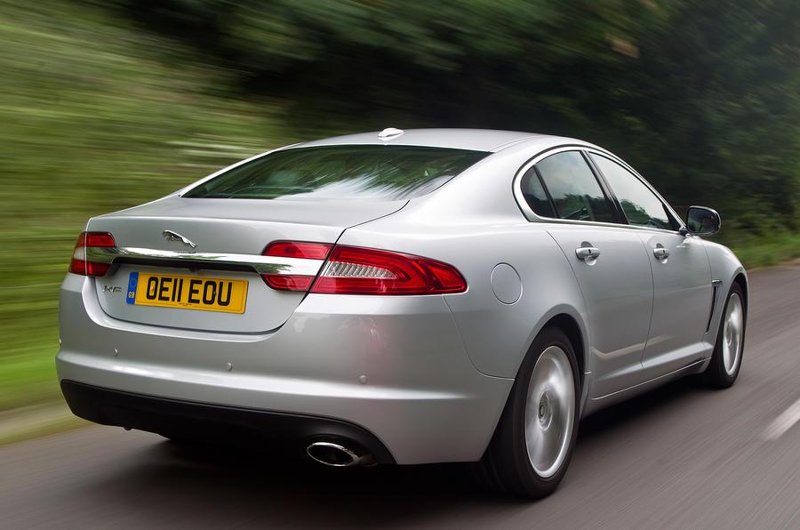Jaguar XF rear quarter