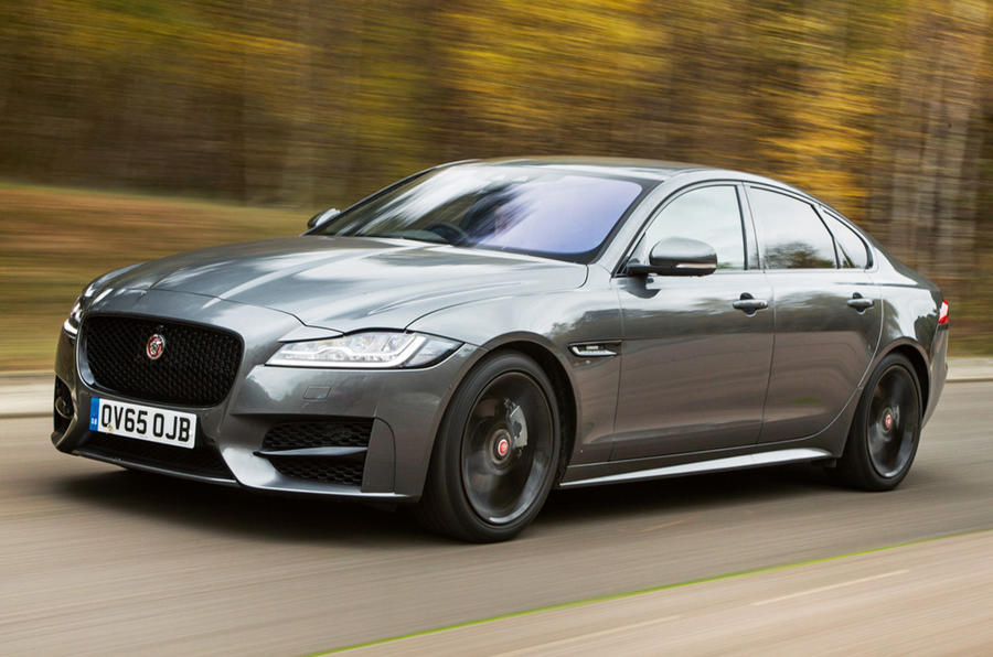 The second generation Jaguar XF