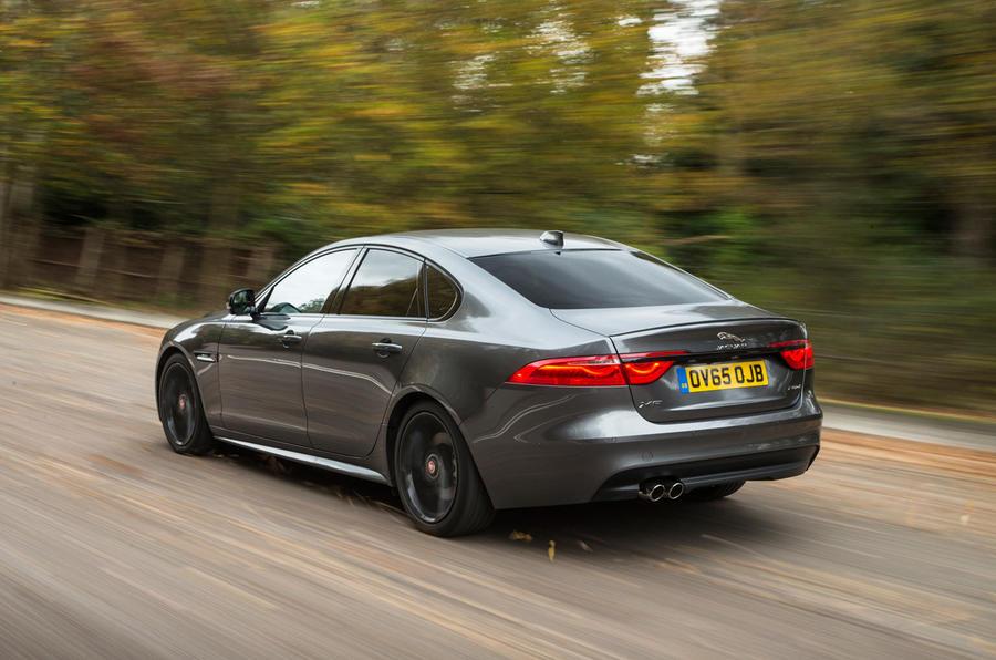 Jaguar XF; Jaguar XF Rear ...