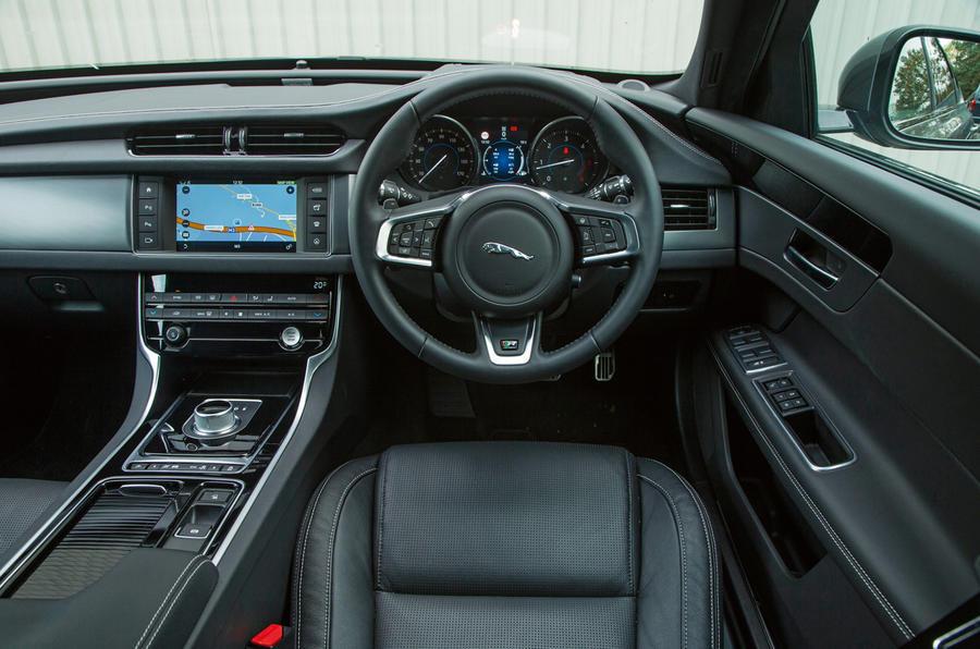 ... Jaguar XF Interior; Jaguar XF Dashboard ...