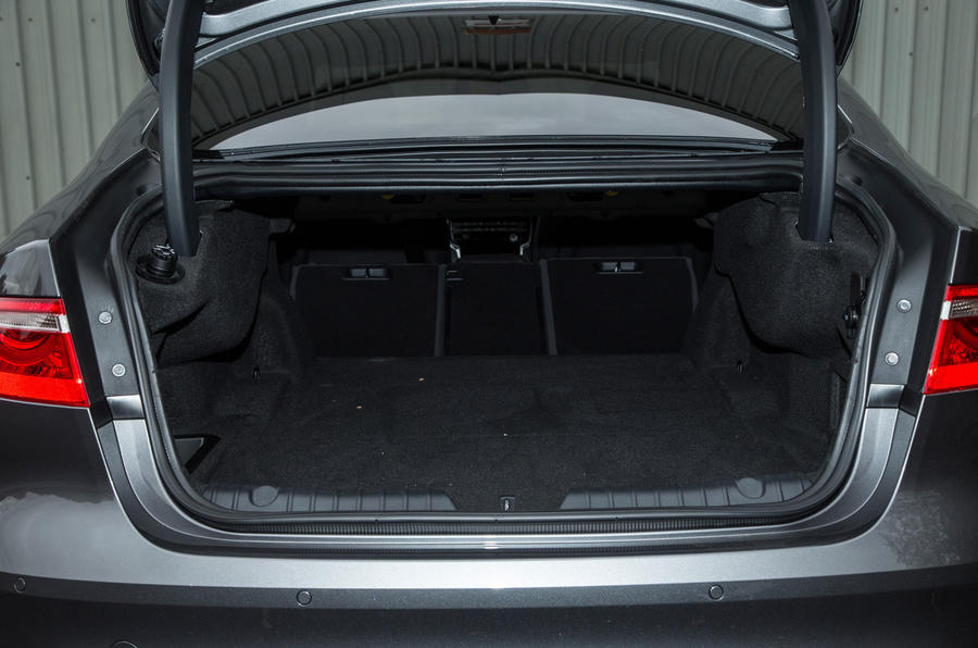 Jaguar XF boot