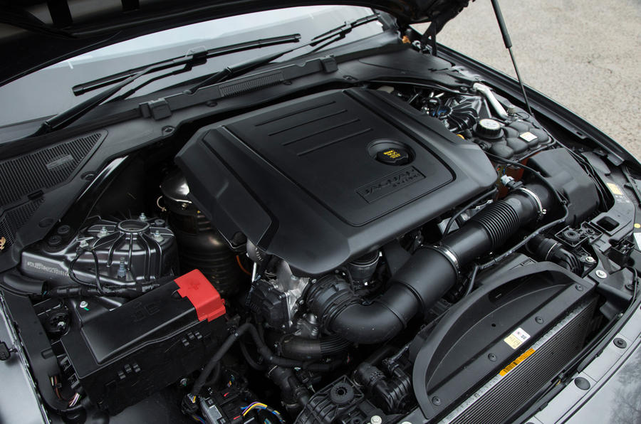 2.0-litre Jaguar XF Ingenium diesel engine