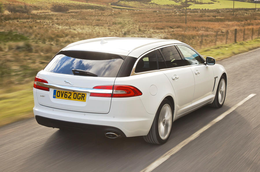 Jaguar XF Sportbrake rear
