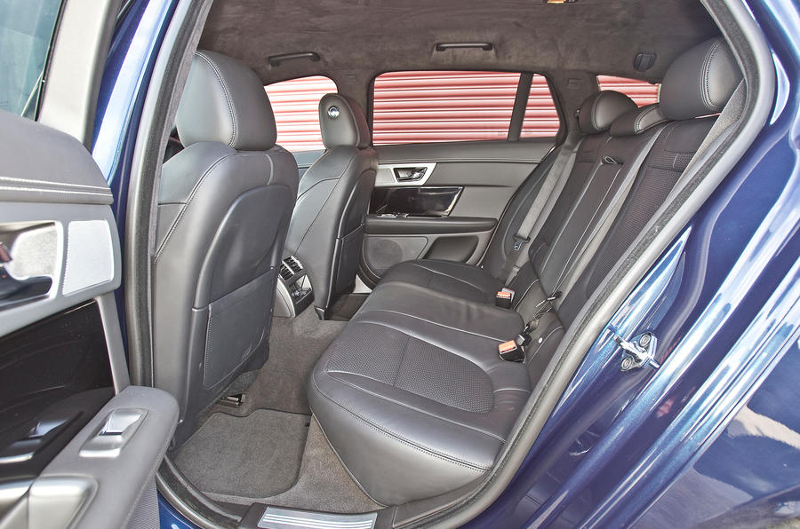 Jaguar XF Sportbrake rear seats