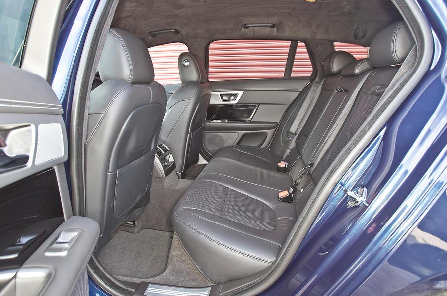 Jaguar XF Sportbrake rear seats