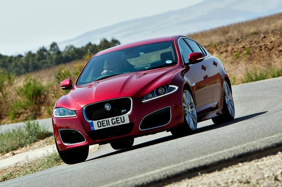 Jaguar XFR ...