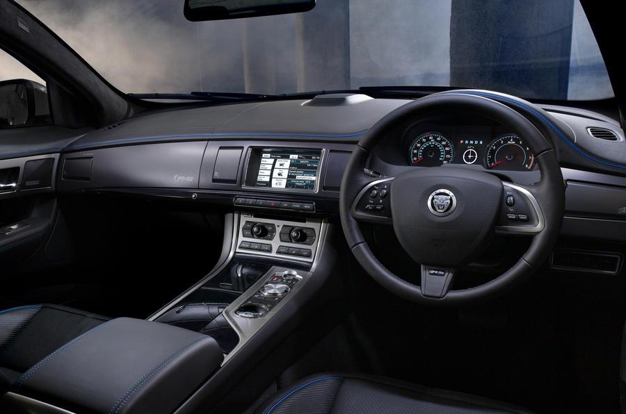Jaguar XFR-S Sportbrake dashboard