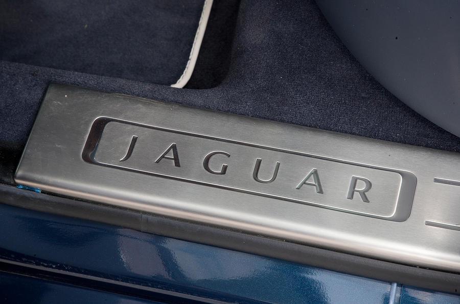 Jaguar XJ kickplates