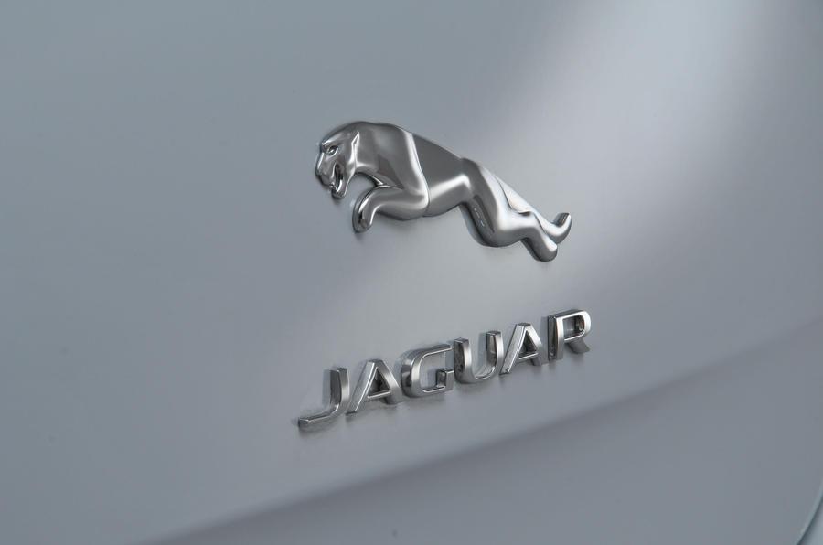 Jaguar XJ badge
