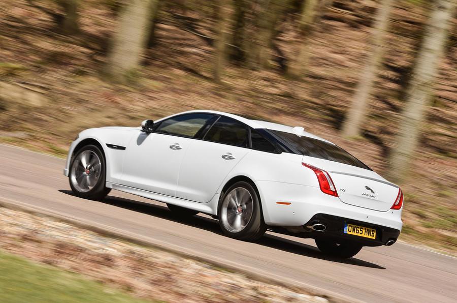 Jaguar XJ rear