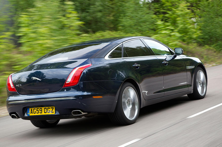 Jaguar XJ rear quarter