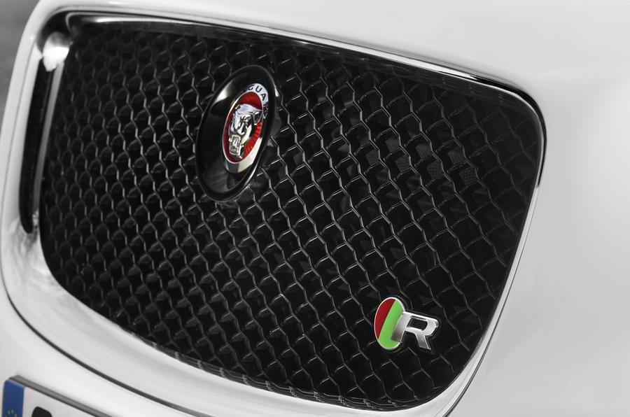 Jaguar XJR front grille