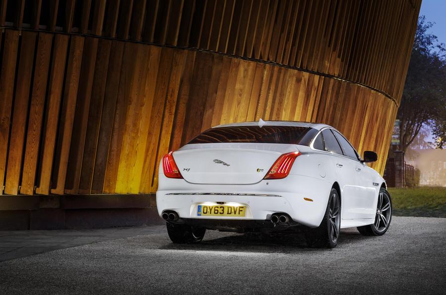 Jaguar XJR rear quarter