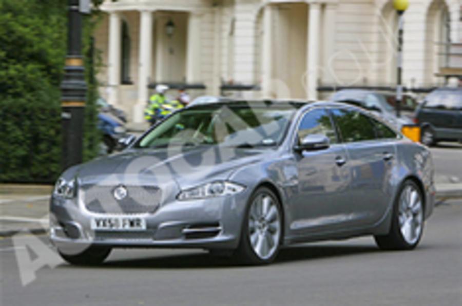Jaguar XJ's public debut