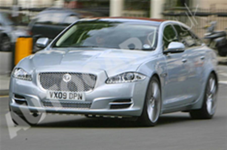 Jaguar XJ hits the streets