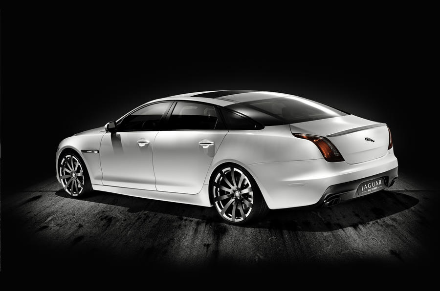 Jaguar XJ concept hints at XJR
