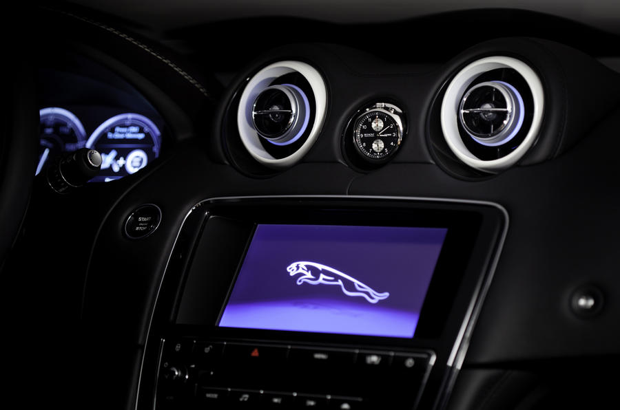 Jaguar XJ concept hints at XJR