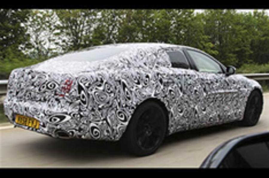 Jaguar XJ spy video