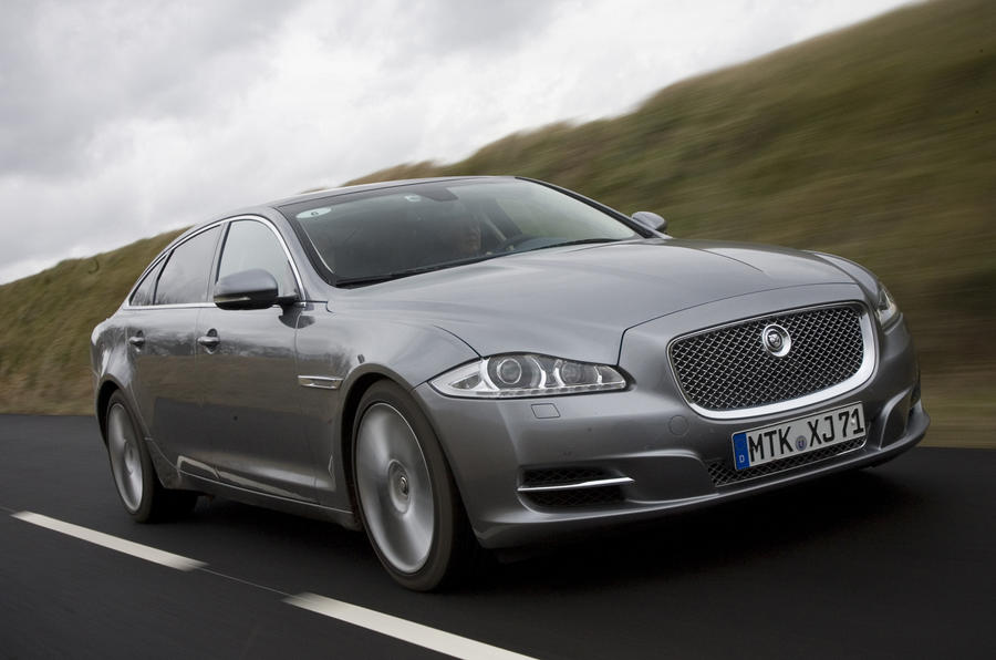 Every Jaguar XJ driven