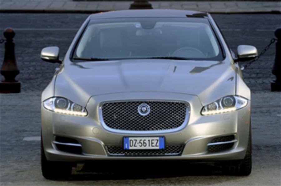 Jaguar XJ production on video