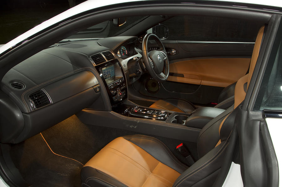Jaguar XK interior