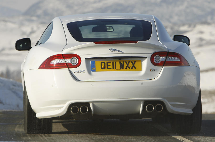 Jaguar XK rear end