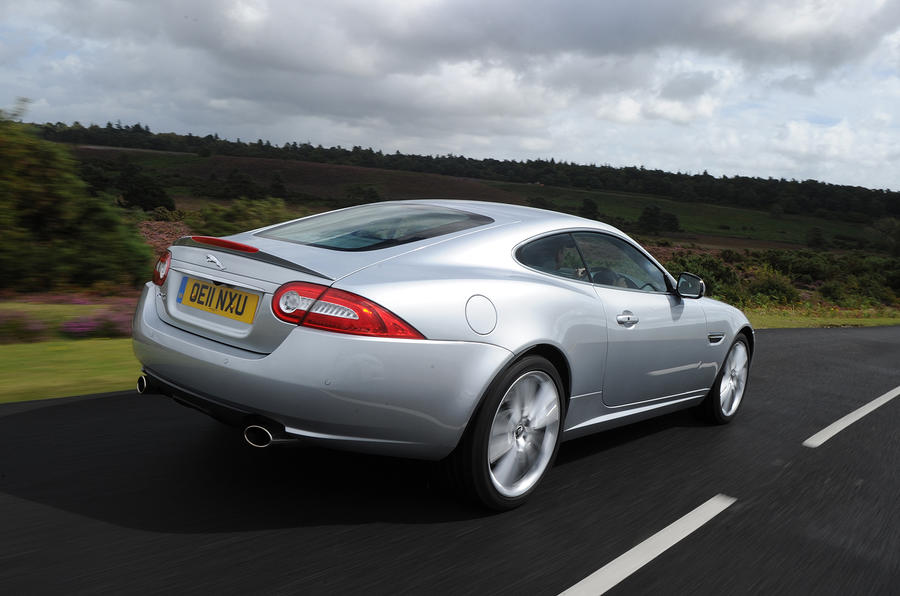 Jaguar XK rear quarter
