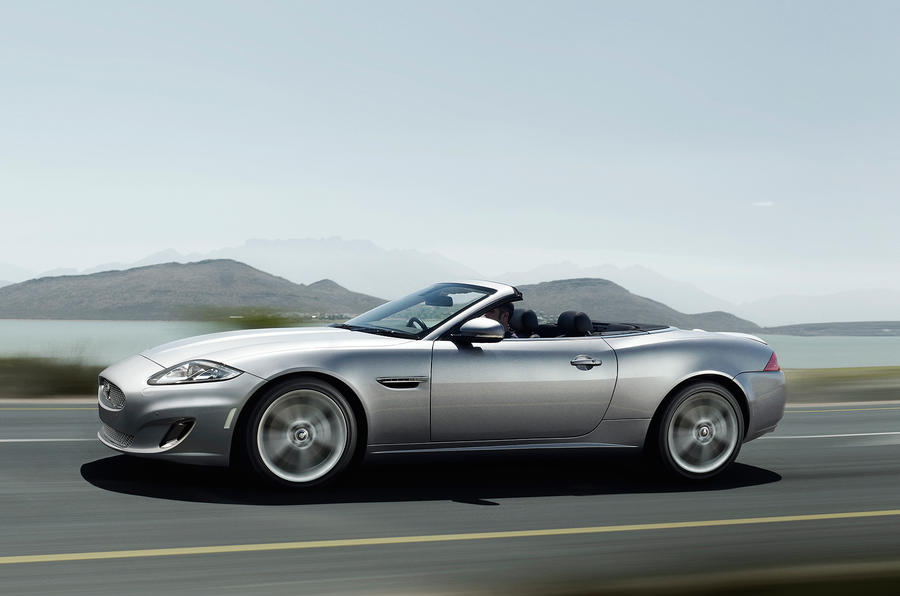 ... Jaguar XK Convertible Side Profile ...