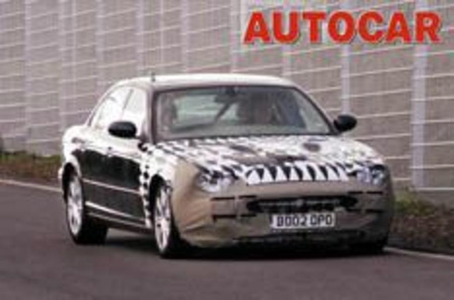 Jag tests new XK
