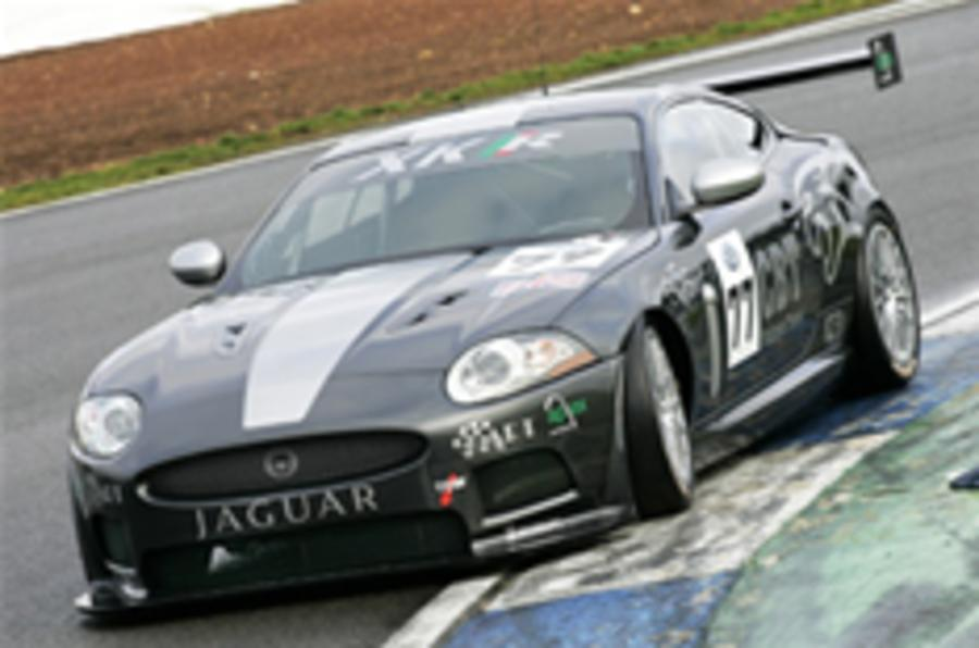 Jaguar GT3 makes public debut