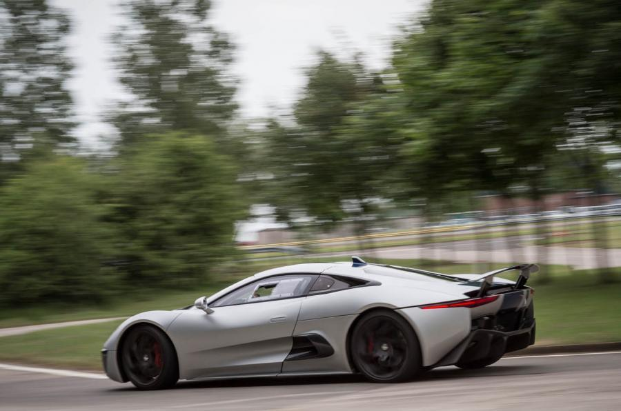 Jaguar C-X75 rear cornering