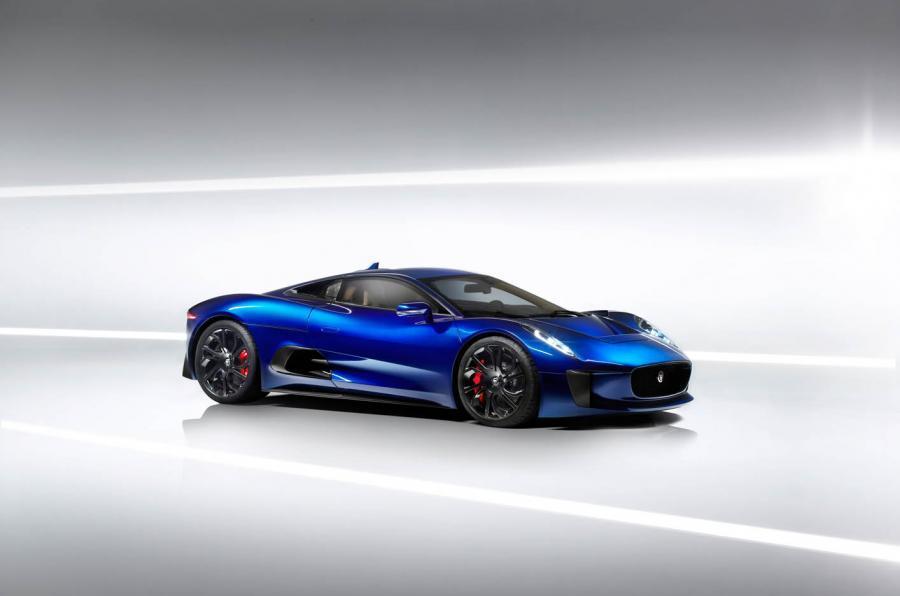 ... Jaguar C X75 Side Profile ...