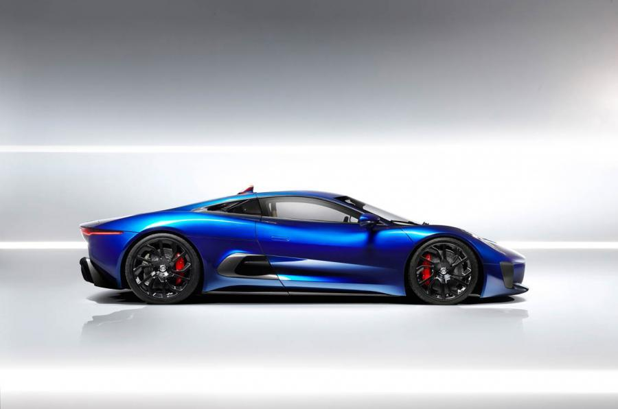 Jaguar C-X75 side profile