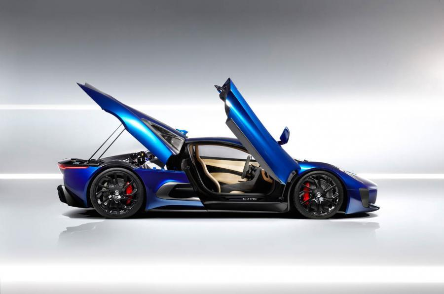 Jaguar C-X75 doors