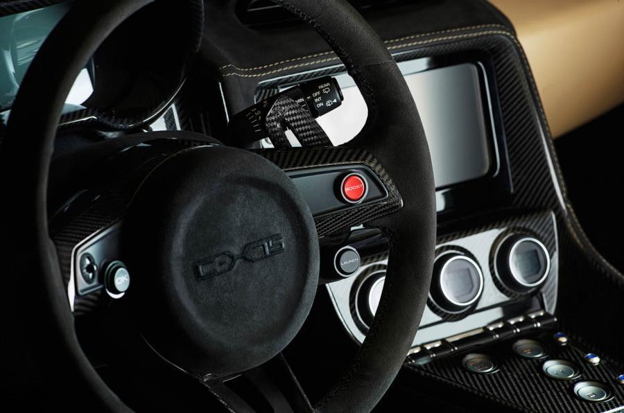 Jaguar C-X75 dashboard