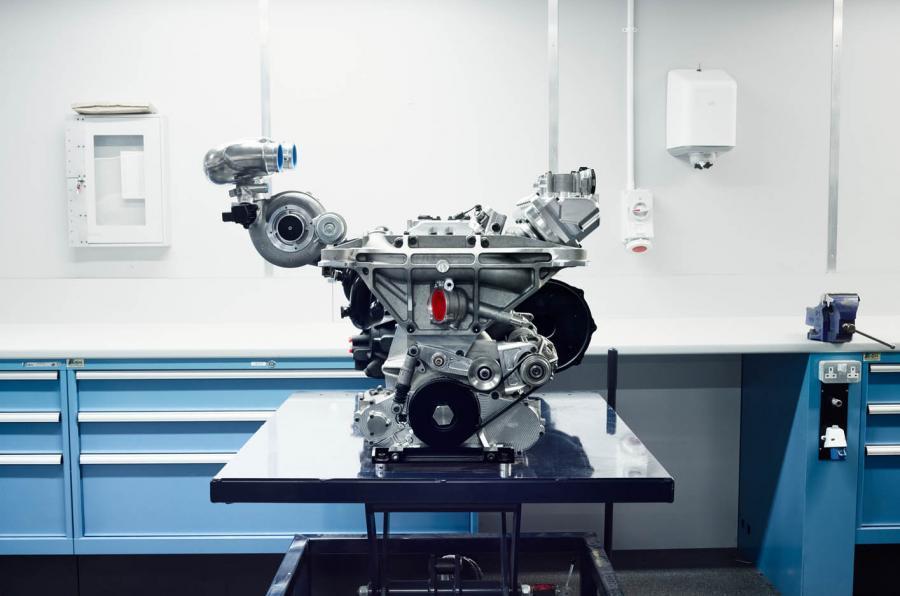 Jaguar C-X75 engine development