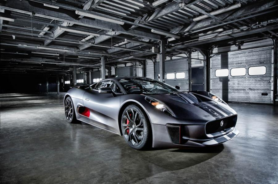 The 850bhp Jaguar C-X75 hypercar