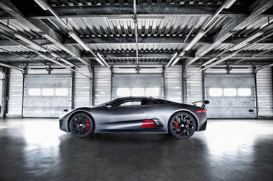 Jaguar C-X75 side profile