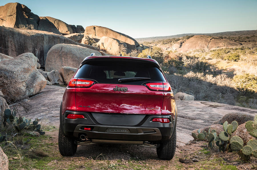 New York motor show: Jeep Cherokee