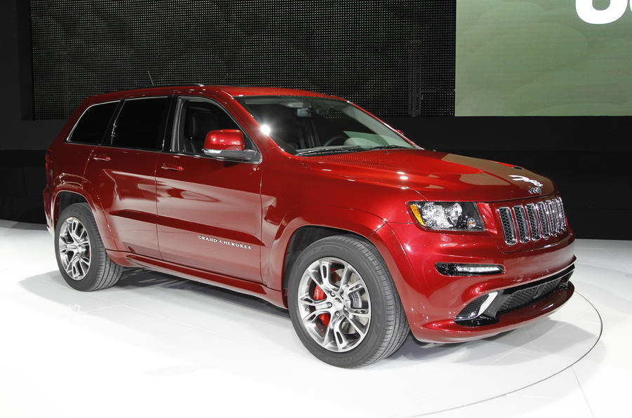 New York show: Jeep Grand Cherokee SRT8
