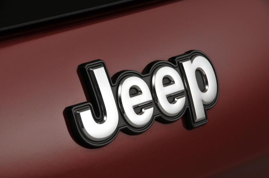 Jeep Cherokee badging