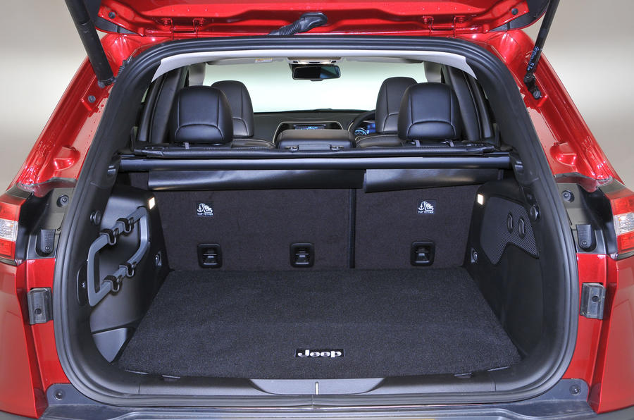 Jeep Cherokee boot space