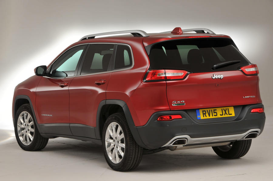Jeep Cherokee rear quarter