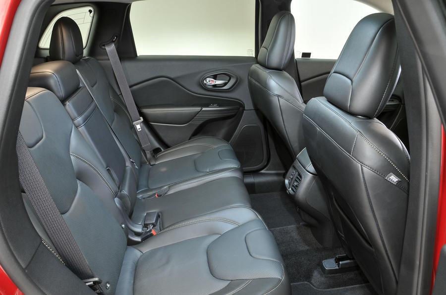 Jeep Cherokee rear seats