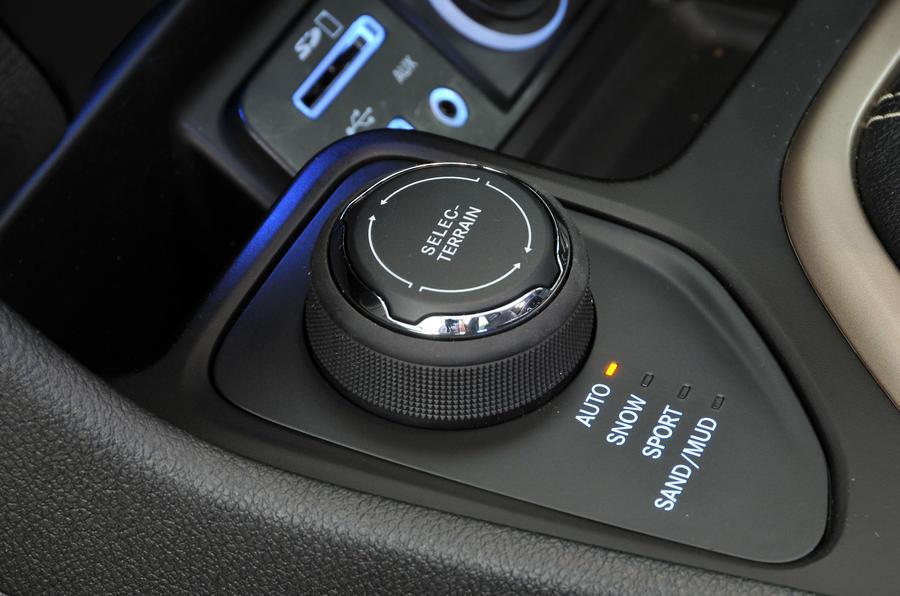 Jeep Cherokee Selec Terrain controller