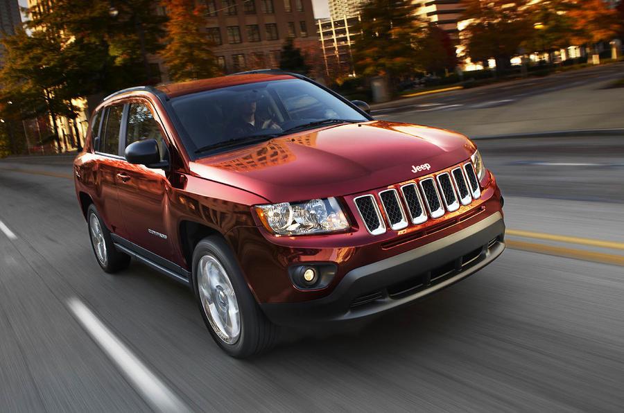 Detroit motor show: Jeep Compass