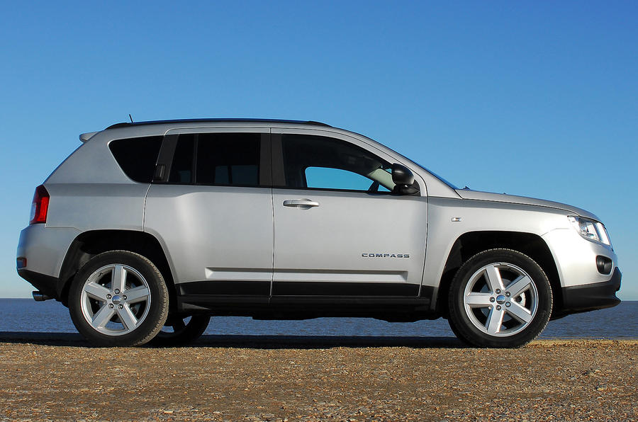 Jeep Compass; Jeep Compass Side Profile ...