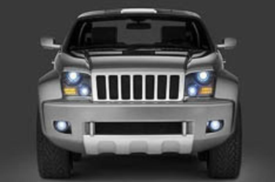 Detroit show: Jeep's macho concept